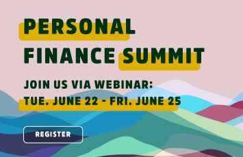 personal finance summit June 22nd to June 25th, 2021